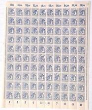 Vintage 80 Pfennig Full Sheet Stamps GERMANY (Deutsche Post) Deutschland