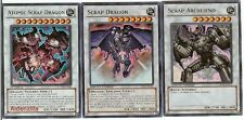 Yugioh Scrap Deck - Atomic Dragon Archfiend Breaker Soldier Golem Worm Beast