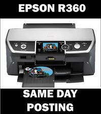 Epson Stylus Photo R360 Reset Servicio inkpad error Disco (Entrega UK LIBRE)