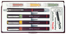 Rotring Rapidograph Junior 3 Pen Set - 0.20, 0.40, 0.60
