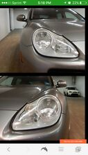 2003 2004 2005 2006 Factory ORIGINAL Porsche Cayenne Head Lights Genuine Porsche