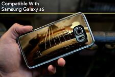 Gibson Guitar Awesome Hard Case Fits Samsung Galaxy S6