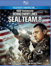 BRAND NEW Seal Team 8 Behind Enemy Lines BLU-RAY + UV HD DIGITAL DOWNLOAD NO GSP