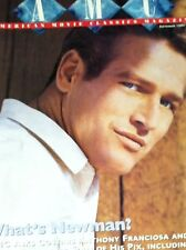 PAUL NEWMAN AMC Magazine September 1997 Gene Tierney in LAURA