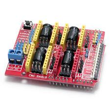 CNC shield, engraving, 3D Printer, A4988 driver expansion board 4 Arduino - USA