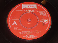 """Ray Charles:  Oh Lord i'm on my way   1976  DEMO   7""""   EX+"""