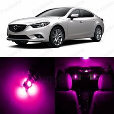 15 x Ultra Pink LED Interior Light Package For Mazda Mazda 6 Mazda6 2014 Up