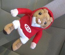 New Kia Hamster Plush Seat Belt Buddy Toy Stuffed Animal Mascot