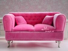 1/6 Barbie BLYTHE DOUBLE SOFA  Dollhouse Miniature