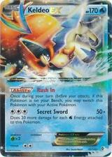 x1 Keldeo-EX - 49/149 - Holo Rare ex Pokemon Boundaries Crossed M/NM