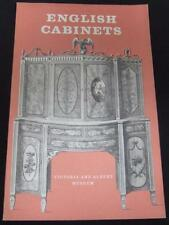 English Cabinets In The Victoria And albert Museum Hayward 1964 Paperback