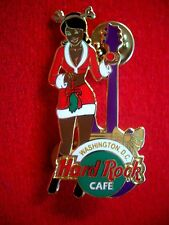 HRC Hard Rock Cafe Washington Christmas 2003 Santas Helper Girl LE300