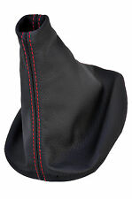 RED STITCH FITS PORSCHE 944 1983 -1991  SHIFT BOOT LEATHER COVER ONLY