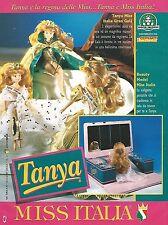 X7964 Tanya Miss Italia - Giochi Preziosi - Pubblicità 1994 - Vintage advertis.