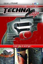 S & W J Frame-Handgun Pocket Holster/Belt Clip-Techna Clip