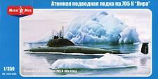 Livre/lyre project 705 alfa-classe sous-marin nucléaire (soviétique MKGS) #6 1/350 mikromir