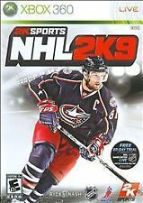 Microsoft XBox 360 Game NHL 2K9
