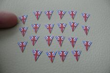 1/12th dolls house - BUNTING SHAPES - SG