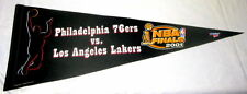 2001 NBA FINALS PENNANT- LAKERS vs 76ers-VG-KOBE BRYANT/SHAQUILLE O'NEAL/IVERSON