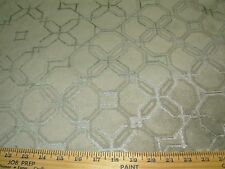 "~3 YDS~VELVET~MODERN ""GEOMETRIC""~MICROFIBRE WITH BACKING UPHOLSTERY FABRIC~"