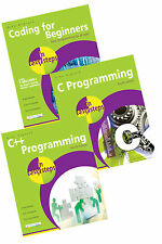 Coding for Beginners, C Programming, C++ Programming in easy steps books set