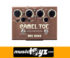 Way Huge Camel Toe MkII Triple Overdrive Guitar Pedal - Auth/NEW -