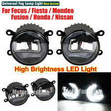 LED DRL Light Projector Lens Fog Lamp For Ford Focus Fusion Mondeo Honda Nissan