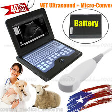 Promotion Portable VET Veterinary Ultrasound Scanner Machine,Micro Convex,CONTEC