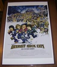 Detroit Rock City Kiss the Rules Goodbye 11X17 Movie Poster