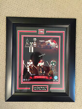 GUMP WPRSLEY HOF JOURNEY SIGNED MONTREAL CANADIENS LIMITED  FRAMED PICTURE/COA