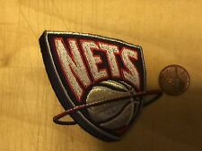"""New Jersey Nets 3"""" Patch Defunct 1997-2012 Primary Logo Basketball"""