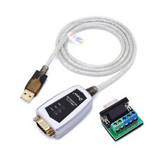6ft USB to RS422 RS485 Serial Converter Adapter Cable w/ FTDI Chip Windows Linux