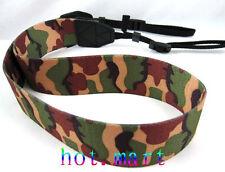 New DSLR Camera Camouflage Shoulder Neck Belt Strap Grip Strap