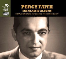 Percy Faith SIX CLASSIC ALBUMS Bouquet MUSIC OF BRAZIL Exotic Strings NEW 4 CD