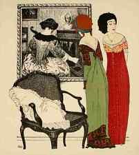 A4 Photo Iribe Paul 1883 1935 Les Robes de Paul Poiret 1908 2 Print Poster