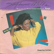 "STEPHANIE MILLS "" BIT BY BIT(THEME FROM FLETCH) / EXOTIC SKATES"" 7"" MCA RECORDS"