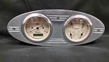 1932 FORD CAR GAUGE CLUSTER QUAD STYLE BEIGE