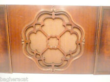 vIntage* RCA VICTOR RE-45 part:  High Gloss Wood SPEAKER GRILL PANEL