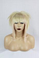 Blonde, Pastel Pink Synthetic Bob Wig Halloween Cosplay Costume Kawaii Dread Wig