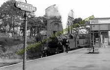 Axminster Railway Station Photo. Chard - Seaton Jct. Yeovil to Honiton Line. (3)