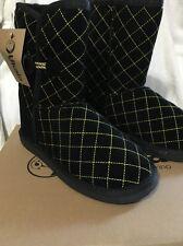 Womens Ukala Sydney Belinda Low Black Boot Size 6