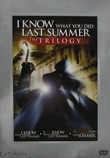 I Know What You Did Last Summer the Trilogy (DVD  3 Movies)