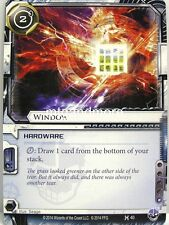 Android Netrunner LCG - 1x Window  #040 - Honor and Profit