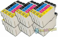 24 Ink Cartridges for Epson Stylus (non-oem) Replaces T0711-4/T0715 Cheetah Inks