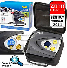 Ring RAC635 Preset Automatic Digital Car Tyre Inflator Air Pump Compressor +Case