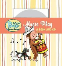 Curious Baby Music Play (Curious George Board Book & CD) (Curious Baby Curious G