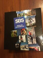 "2013 SBS Seattle Bike Supply Dealer Handbook Binder - 3"" D-Ring"