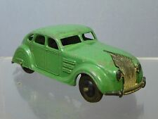 "Dinky toys modèle No.30a chrysler ""flux d'air"" saloon (premier vert version)"