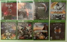 Big Auction! 8+8extra bonus games for the Xbox 1 worth over $400 all brand new