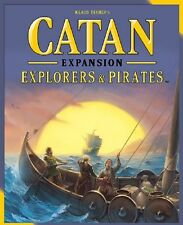 Catan: Explorers & Pirates Board 5th Edition Game Expansion (New)